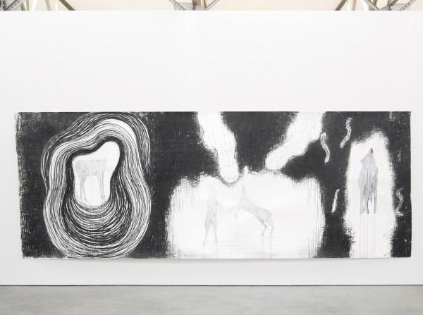 Arno Kramer - Longing I - Aquarel, houtskool en potlood op papier