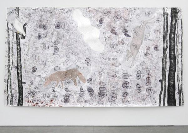Arno Kramer - Zonder Titel - Aquarel, houtskool en potlood op papier