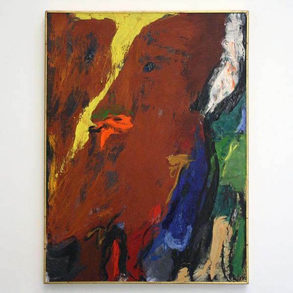 Asger Jorn - Le Creux au Ventre (de Lege Maag) - Olieverf op doek