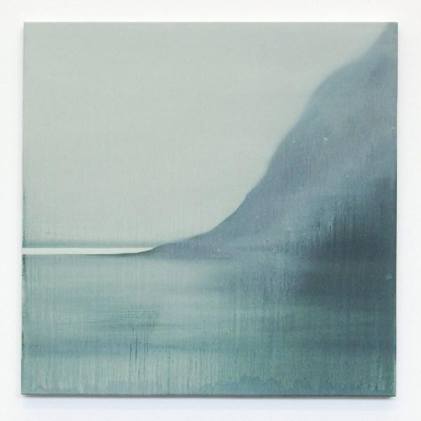 Bart Slangen - Diamond Beach - 80x80cm Olieverf op canvas 2013