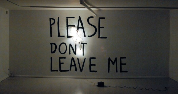 Bas Jan Ader - Please Don't Leave Me - Verf en lichtpeertjes, 1969