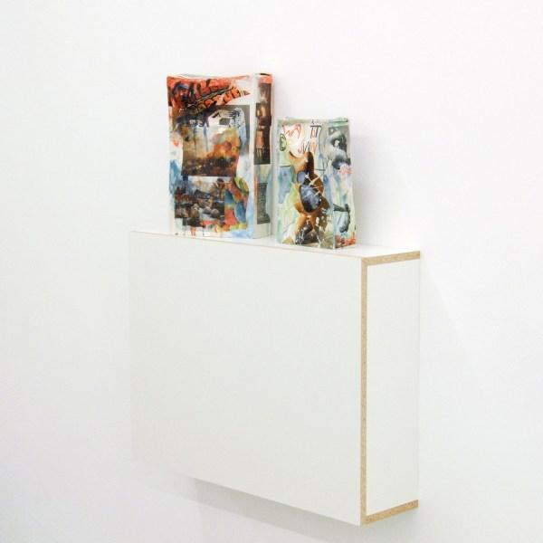 Bastien Adbry & Dimitri Broquard - Cerebral Box nr11 & nr? - Ongeveer 30x20x8cm, Beschilderd geemaileerd porselijn en digitale transferprints