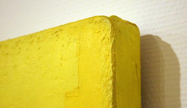 Ben Akkerman - Zonder Titel - Acrylverf op doek op paneel (detail)