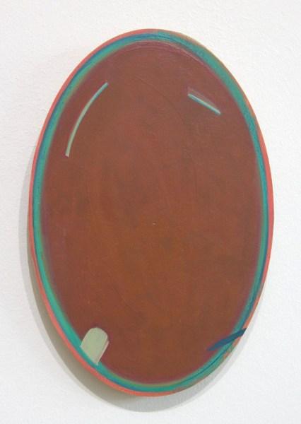 Benjamin Bridges - mr terracotta smirkman - 15x22cm Olieverf op paneel, 2014