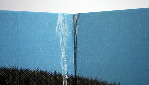 Berndnaut Smilde - Kammerspiele - Karton, fotobehang en tegels 2012-2013 (detail)