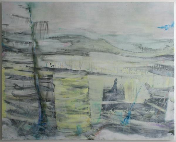 Bert Frings - The Forgotten - 160x200cm Arcylverf op canvas