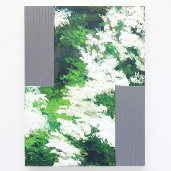 Bert Loerakker - Untitled - 80x60cm Olieverf en alkydverf op linnen op paneel