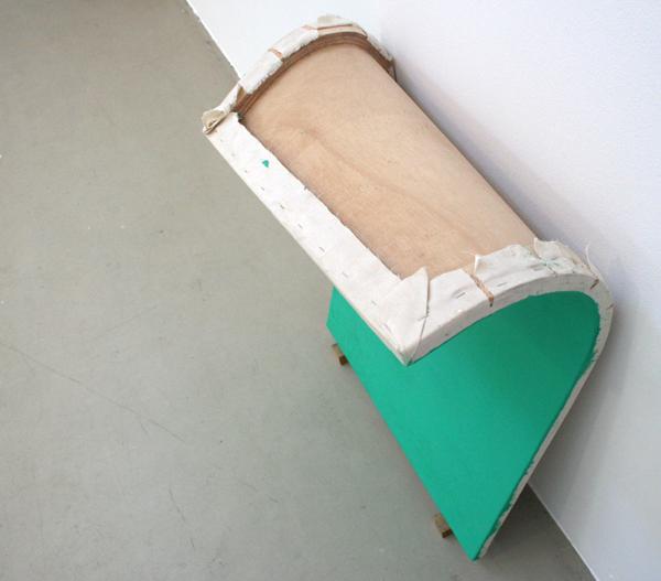 Bob Eikelboom - L'atelier Rouge - Olieverf op canvas op paneel, installatie