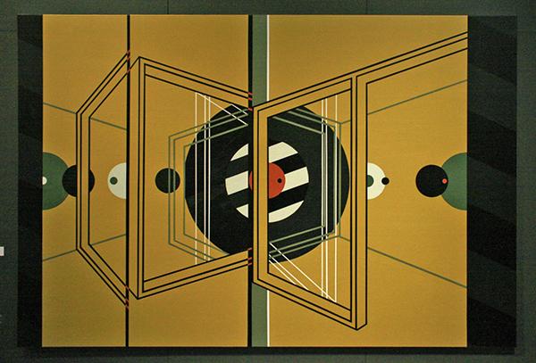 Bonnie Severien - New Illusions #1 - 200x300cm Acrylverf op linnen
