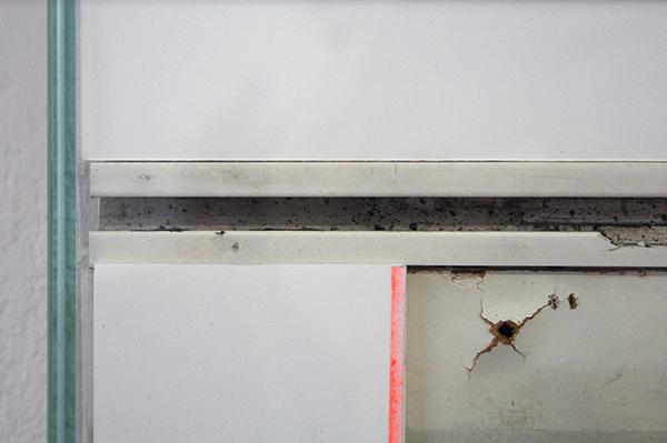 Bram Braam - White Square 1 - 66x66x7cm Mixed Media (detail)