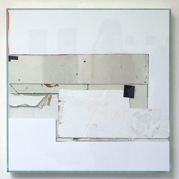 Bram Braam - White Square 2 - 66x66x7cm Mixed Media