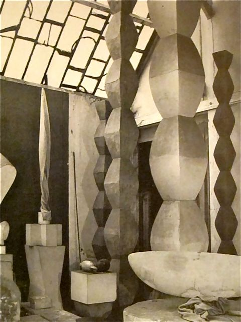 Brancusi - studio in 1957