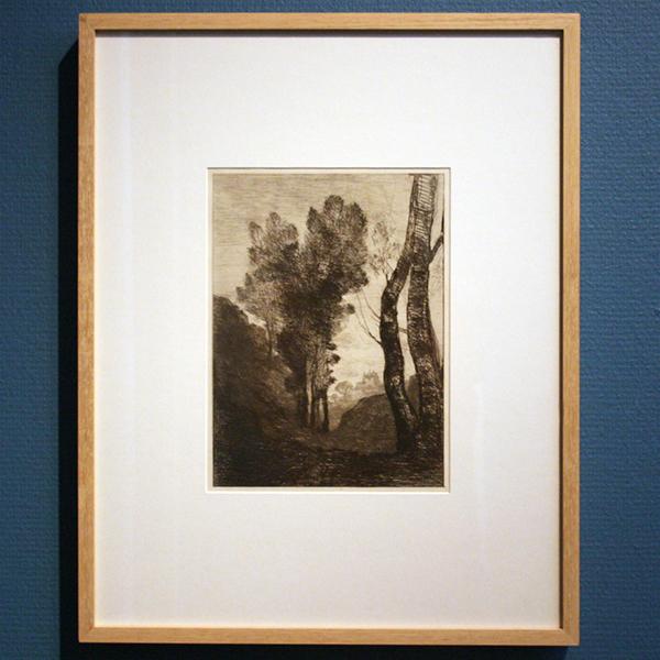Camille Corot - Environs de Rome - Ets
