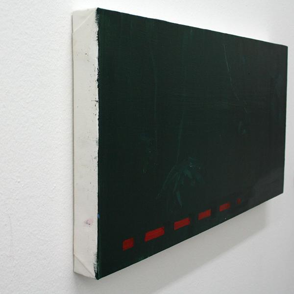 Carla Klei - Zonder Titel - Olieverf op doek (detail)