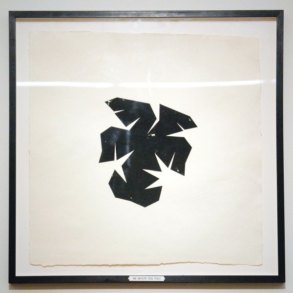 Charles Avery - Meta Insignia (We refute thus) - Gouache op papier