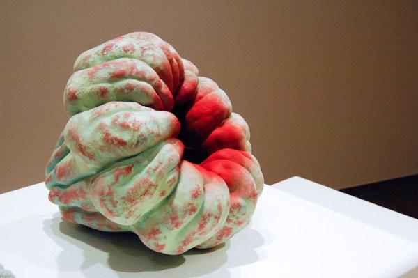 Chieko Katsumata - Akoda - Keramiek met gekleurde engobe, 2015