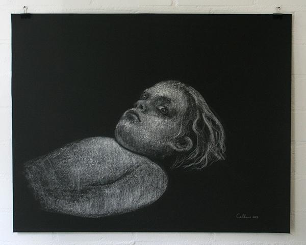 Christina Calbari - Tableau I - 78x61cm Potlood op papier