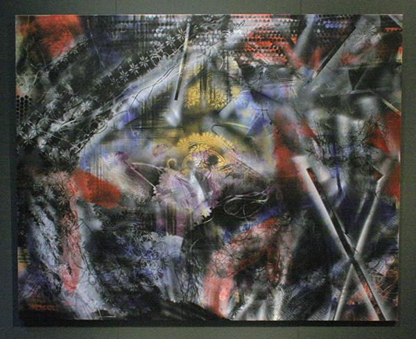 Coen Vunderink - Untitled - 200x250cm Eitempera op linnen
