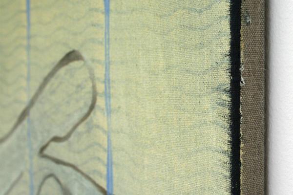 Cornelius Quabeck - Cool Spanish - 73x60cm Acrylverf op canvas (detail)