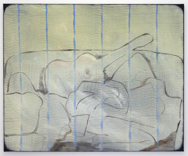 Cornelius Quabeck - Cool Spanish - 73x60cm Acrylverf op canvas