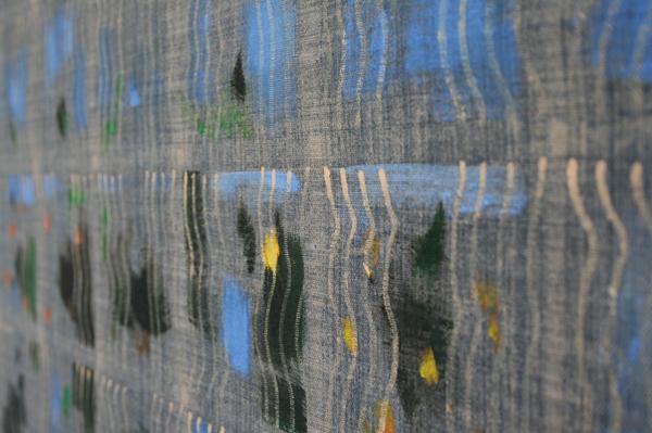 Cornelius Quabeck - Goat Garden - 81x65cm Acrylverf op canvas (detail)