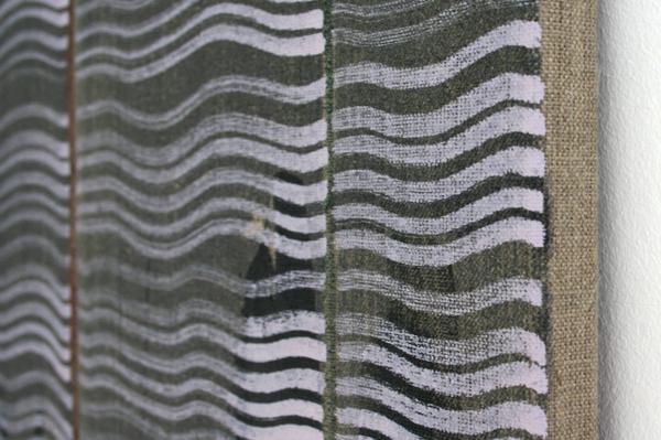 Cornelius Quabeck - TBN - 110x110cm Acrylverf op canvas (detail)