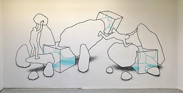 Daan Botlek - Muurschildering