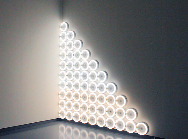 Dan Flavin - Untitled (to a man, George McGovern) - Tl-buizen
