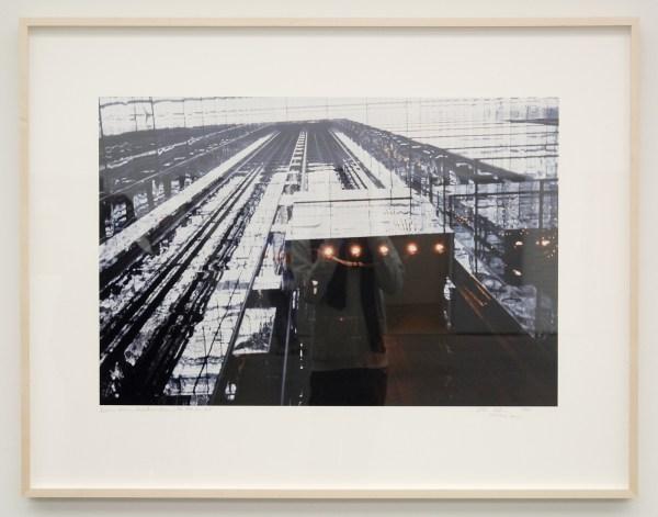 Dan Graham - Interior Atrium, Park Avenue Atrium, New York, NY - Unieke Cibachrome afdruk