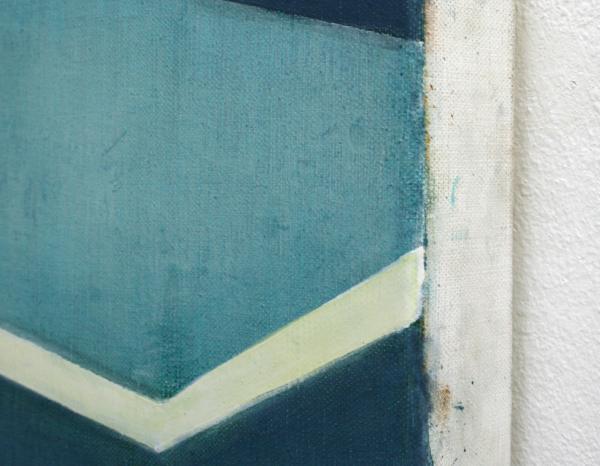 Daniel Mullen - Preview - 100x90cm Olieverf op canvas (detail)