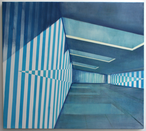 Daniel Mullen - Preview - 100x90cm Olieverf op canvas