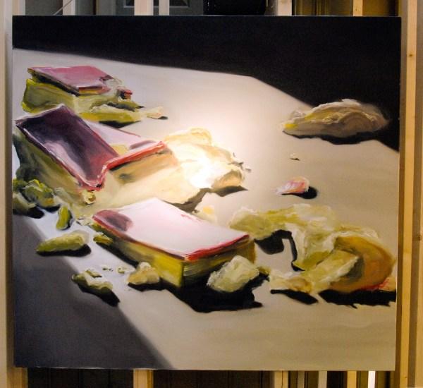 Danielle Hoogendoorn - Tompouche #2 - 150x150cm Olieverf op canvas