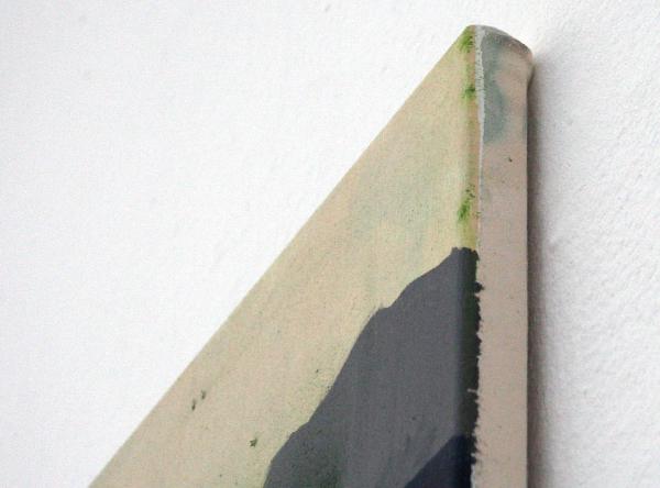 David Powell - Tighten - 200x140cm Olieverf en acrylverf op doek (detail)