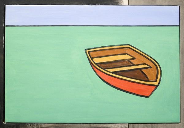 David Salle - Hitchhikers - 213x295cm Olieverf en acrylvef op linnen en op canvas (detail)
