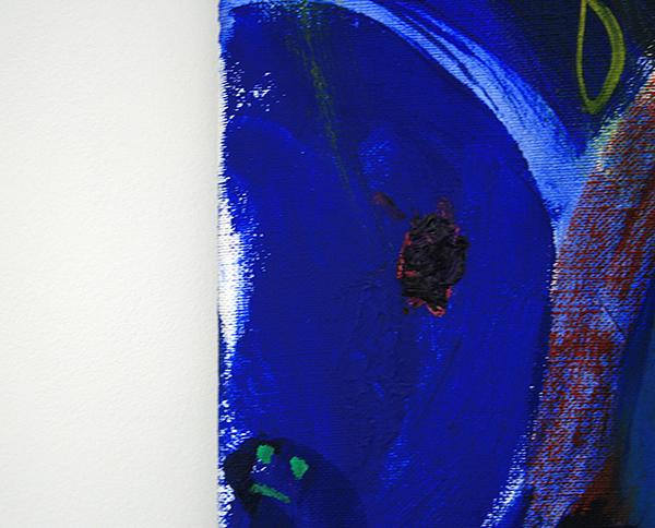 Derk Thijs - Lively Garden - 80x100cm Olieverf op linnen (detail