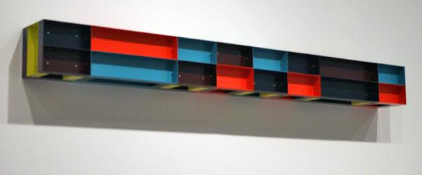 Donald Judd - Untiteld (DJ 85-51) - Aluminium en verf