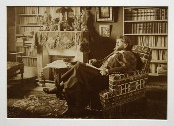 Dornac - Portrait de Jean Richepin - Albuminedruk 1890