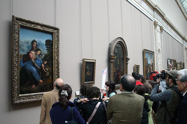 Drukte bij Da Vinci's