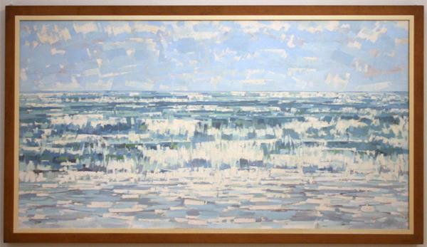 Edgar Fernhout - Zee (4) - Olieverf op doek