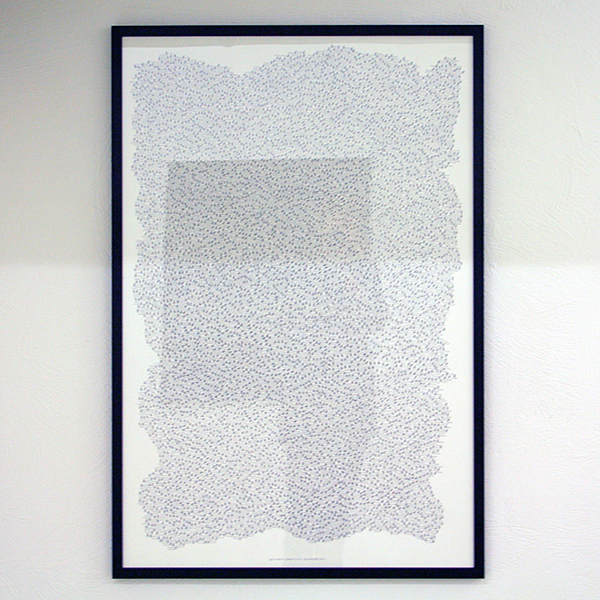 Eduard Bezembinder - 6666 numbered (Spanish) Flies - 112x75cm Fineliner op papier