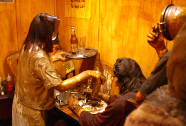 Edward Kienholz - The Beanery - Mixed Media