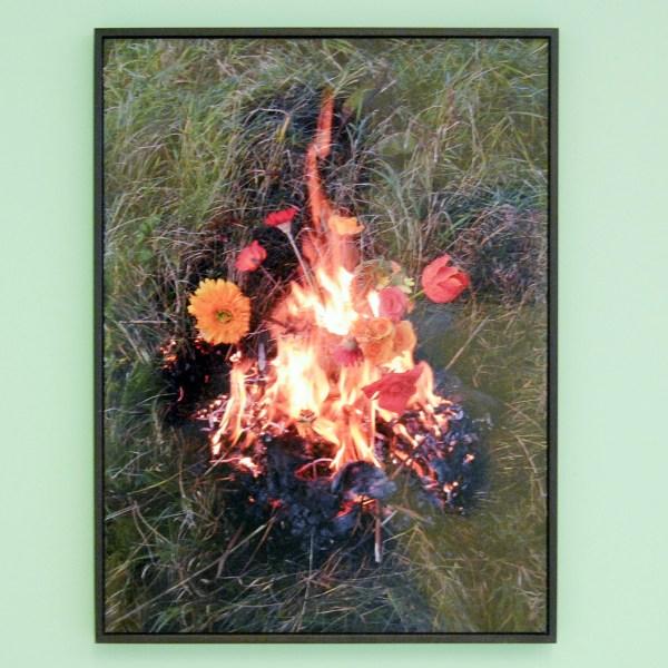 Elspecth Diederix - Fire Still Life - Digitale print op aluminium, oplage 100 (€238,-)