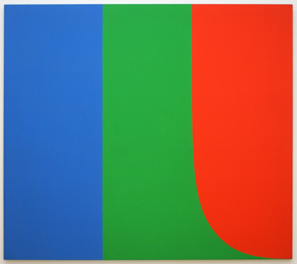 Elsworth Kelly - Blue, Green, Red I - Olieverf op doek