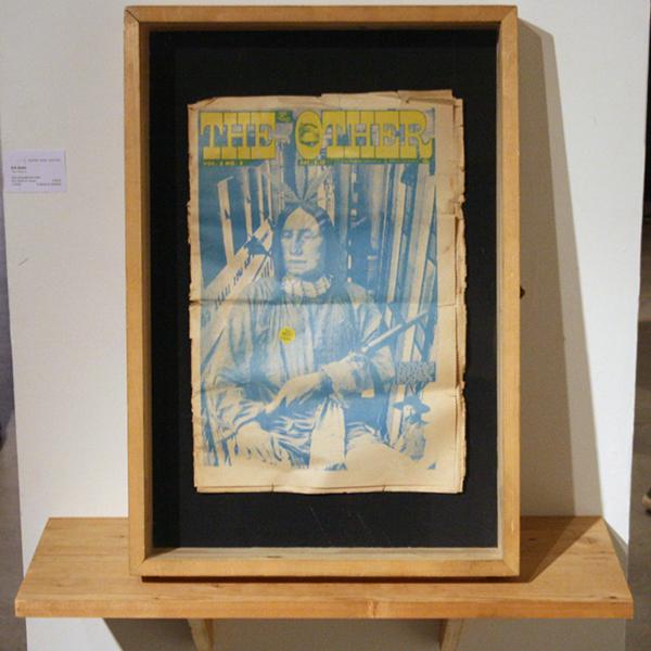 Erik Boker - The Other I - 60x42cm Hout, glas en gevonden object