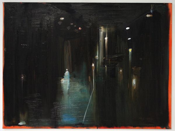 Erik Pape - Place Stalingrad - 75x100cm Olieverf op linnen