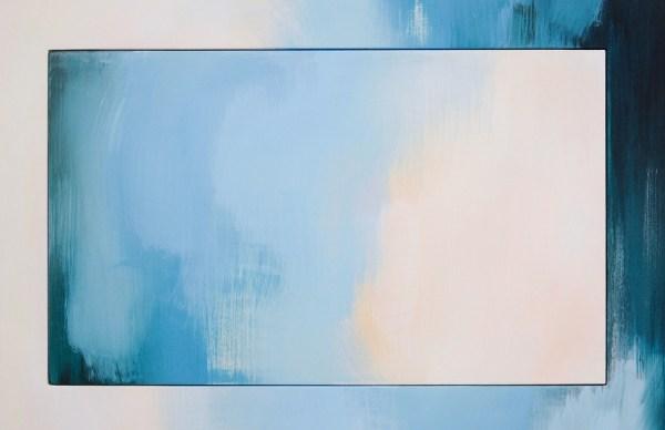 Esther Tielemans - Untitled 8 - 180x135cm Acrylverf op multiplex (detail)
