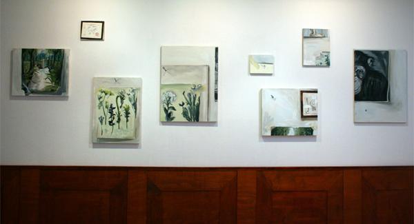 Eva De Jong - Diverse schilderwerken en lambrisering