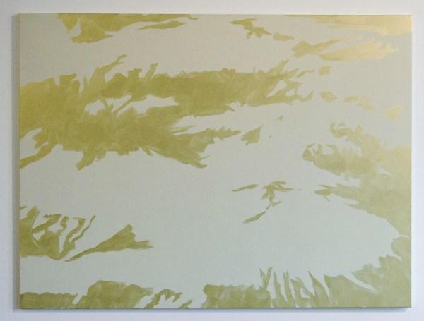 Evi Vingerling - Zonder Titel - 150x180cm Gouache en acrylverf op doek