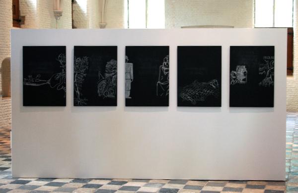 Falke Pisano - Structure for Repetition (not representation) - Installatie sculptuur