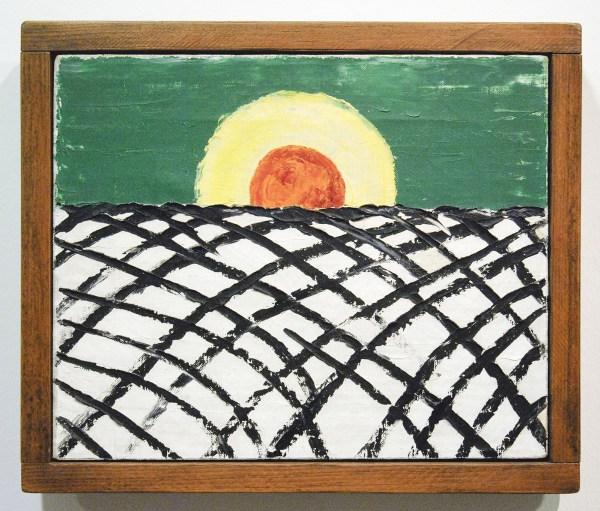 Forrest Bess - Untitled (nr 7) - Olieverf op doek, 1957
